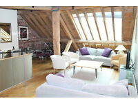 WAREHOUSE CONVERSION 3 BED 2 BATH PORT EAST APARTMENTS CANARY WHARF E14 WEST INDIA QUAY SOUTH HERON