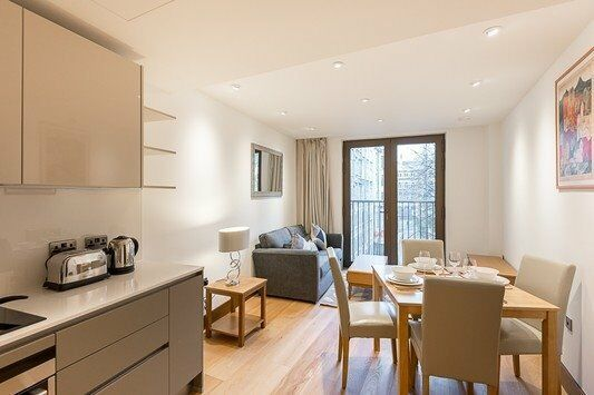 LUXURY DESIGNER FURNISHED 1 BEDROOM APARTMENT - HOLBORN FARRINGDON THE STRAND CONVENT GARDEN EC4 WC2