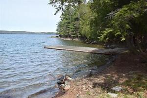 RARE 14 acre PROPERTY, SITE DEVELOPED & over 1900 ft WATERFRONT