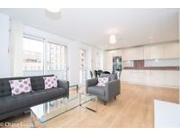 Modern 3 Bed 2 Bath Apartment in Bow, E3, Gym, Concierge, Balcony, Roof Terrace, Close to DLR- VZ