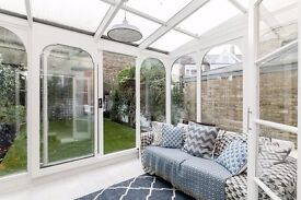 Newly redecorated four bedroom family house in the heart of Munster Village in Fulham.