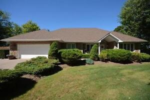 Executive Bungalow w. Double Car Attached Garage & Waterfront