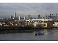 # Beautiful 2 bed 2 bath coming available 11th floor with spectacular views across the River Thames!