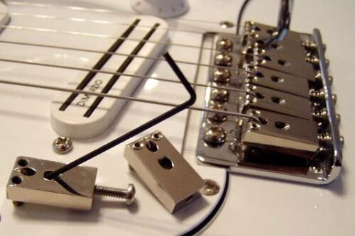 STRING LOCKS MK2 chrome or nickel plated locking string saddles