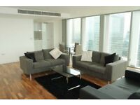 Three Bedroom apartment , 1388 SQ FT, Residents Gym £1125PW, Available NOW!!!! Canary Wharf E14-SA
