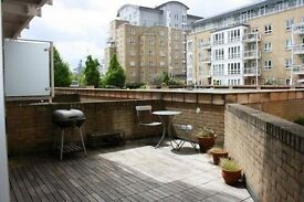 GREAT DEAL! FURNISHED 1 BEDROOM APARTMENT - TERRACE UNDERGROUND PARKING GYM DOCKLANDS CANARY WHARF
