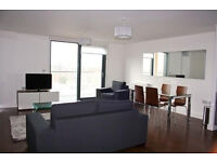large designer furnished three double bedroom, two bathroom apartment with private balcony