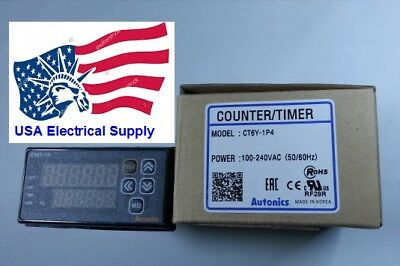 Ct6y-1p4 Autonics Digital Timer Counter  Various Function 6digit