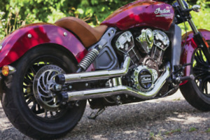 Muffler - silencieux - Exhaust pour Indian Scout