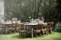 FARM/HARVEST TABLES FOR RENT