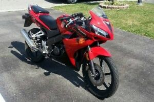 Trade my Honda CBR 125 with Yoshimura for a JETSKI/ATV/Golf Cart