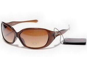 Oakley Betray Women's Sunglasses Chocolate Frame Brown Lens