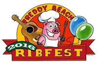 Freddy Beach RibFest Washer Toss Competition