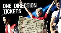 2 floor seats for One Direction