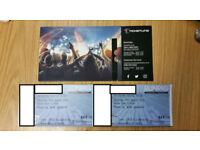 2x Runrig Last Dance tickets, Saturday 18th August, standing
