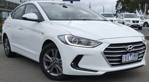2016 Hyundai Elantra AD MY17 Active White 6 Speed Sports Automatic Sedan Meadow Heights Hume Area Preview