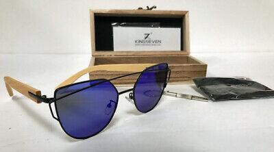 KING SEVEN MEN'S WOOD GLASS'S NEW IN BOX (King Seven Sunglasses)