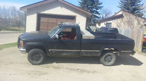 1991 GMC Sierra 4X4 5 speed