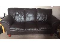 real leather sofa set delivery available