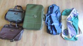 Job lot - selection of travel bags, cases, handbags