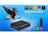 Android TV box whit 1 year subscription Chip price