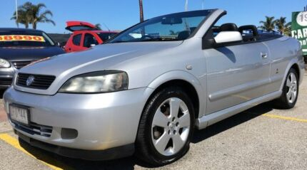2006 Holden Astra TS MY06 Silver 4 Speed Automatic Convertible
