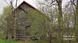 Old Log Home - As Is