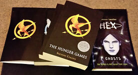 The Hunger Games Trilogy and Hex: Ghosts