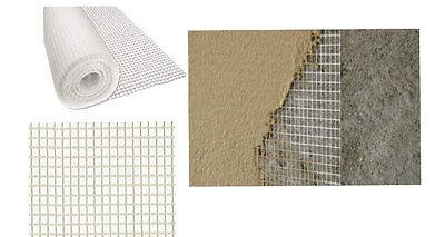 Rete sotto intonaco portaintonaco in fibra di vetro rotolo da mt 50 h cm 100