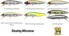 Pontoon21 Dexter Minnow 93SP-SR fishing lures original range of colours