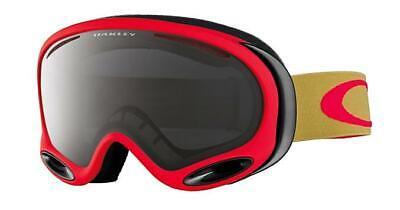 New Oakley Ski Snowboard Goggles - A Frame 2.0 OO7044 12 - Copper Red/Dark Grey