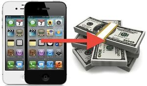 SELL YOUR USED IPHONE! CRACKED, MINT, LOCKED!
