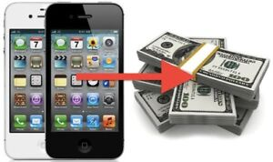 I WILL BUY YOUR I-PHONES IN CASH, SAME DAY!!$$