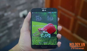 Korean model LG VU 3 with pen e-reader phablet (mini tablet)
