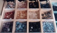 Large Variety of New Gemstones, Minerals, Quartz Crystals