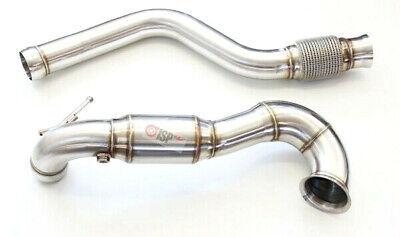 """@ Mercedes A45 AMG CLA 45 AMG GLC 45 AMG Downpipe Set 3.5"""" zweiteilig High Flow@"""