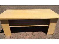 Heavy IKEA coffee table with shelf £10
