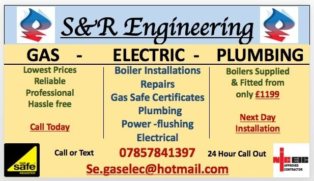 Gas Safe Engineer Plumbing Heating Nic Electrician Best
