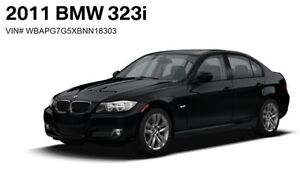2011 BMW 323i Sedan Luxury Edition