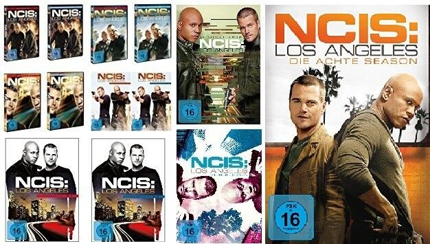48 DVDs * NAVY CIS / NCIS LOS ANGELES - SEASON / STAFFEL 1-8 IM SET # NEU OVP +
