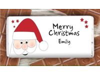 Personalised 'Christmas' Chocolate