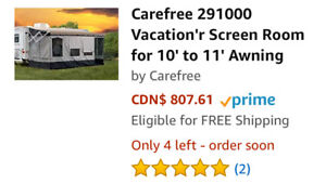 Carefree Screen Room for 10' Awning