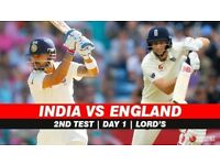 India v England Lords Test - Day 4 - 12 August