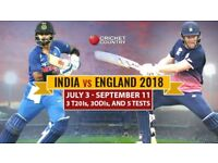India v/s England 3rd T20 at Bristol on 8th July 2018