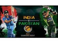 India v Pakistan Champions Trophy Tickets