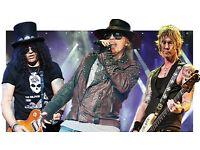 2 Guns N Roses Not In This Lifetime Tickets - Slane