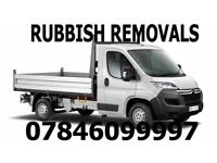 Rubbish removals & Gardining 07846099997