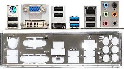 ATX Blende I/O shield MSI FM2-A75MA-E35 io #535 OVP NEU bracket NEW FM2-A55M-E35