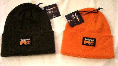 Timberland Pro Men's Rib Knit Watch Hat Cap Beanie Acrylic OSFM Choose Color Acrylic Knit Beanie Cap