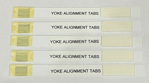 CRT Yoke Strip Alignment Mag Tabs for Wells Gardner any Color Convergence Tube